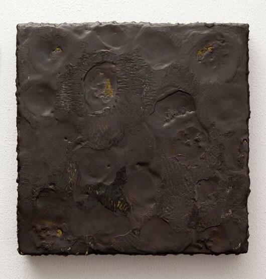 Graphite Painting No. 3 (Yellow), 2011